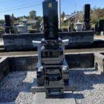 深谷市の共同墓地で墓石が完成しました。